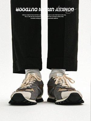 『angel.時尚』 多嘴驢DONKEY 小眾設計感板鞋男復古潮流解構厚底運動休閒阿甘鞋HJ68