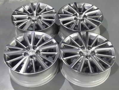 【員林 小茵 中古 物流區】NEW ALTIS 原廠 16吋 鋁圈 5孔100 6.5J ET39 銀車面