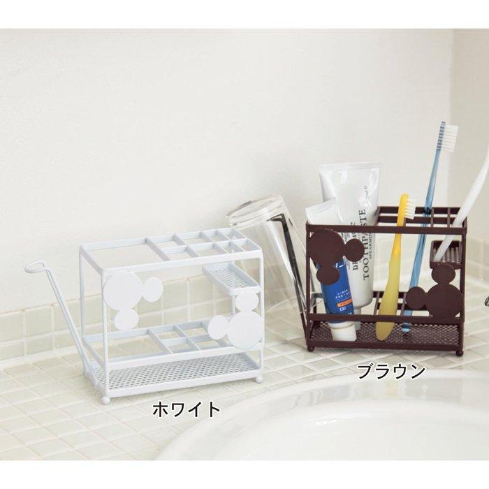 迪士尼DISNEY《預購》米奇 牙刷架杯架~日本正品~共2色~心心小舖