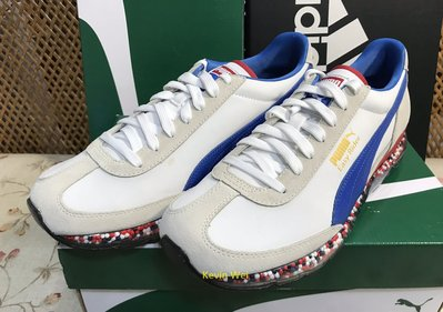 Puma Jamming Easy Rider 白藍紅 367832-05 慢跑鞋 US10  Clyde Court Uproar Cell