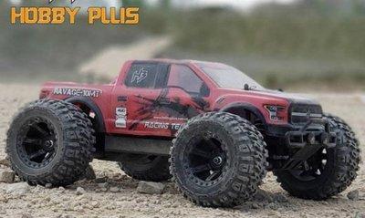 預購 美國 Hobbyplus 2.4G 1/10 RAVAGE-MT10 爆力大腳車4WD