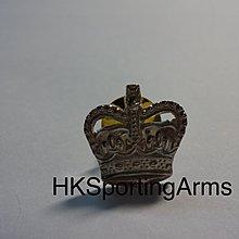 皇家警察警司 '皇冠頭' 銀章 RHKP Superintendent 'Crown' Metal Badge/Pin