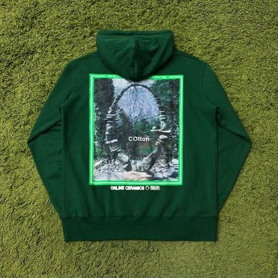 COtton男裝Online Ceremics I Took A Walk in the Woods 嘻哈潮牌衛衣帽衫