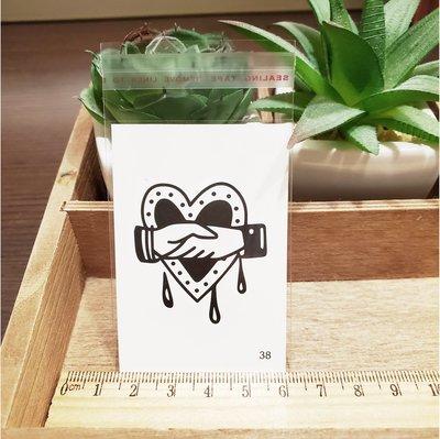 【萌古屋】百態人生38單圖 - 男女防水紋身貼紙刺青貼紙 K43