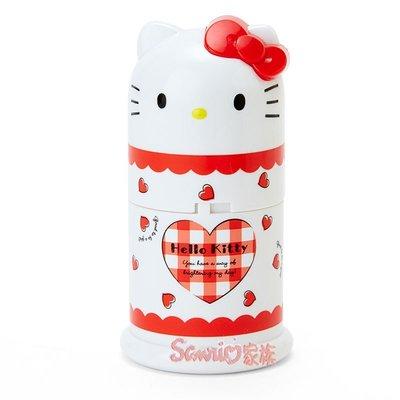 《東京家族》kitty凱蒂貓形牙簽裝收納罐牙簽筒牙簽盒