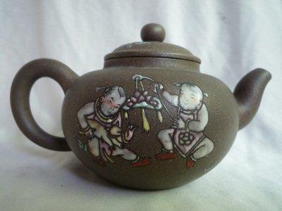 [ 廣緣-茶壺 ] 單孔  惠孟臣老段泥紫砂茶壺    **可議價**