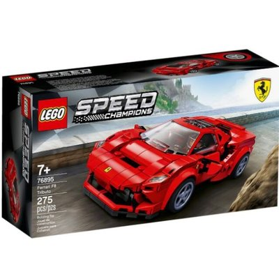 【樂GO】樂高 LEGO 76895 SPEED 法拉利 Ferrari F8 Tributo 全新 新品 原廠正版