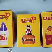 1998年麥當勞玩具,合共三件,老香港懷舊玩具