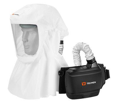 PAPR TM-H2,動力濾淨式呼吸防護具.Tecme,泰克曼, 動力式呼吸防護具 空氣過濾