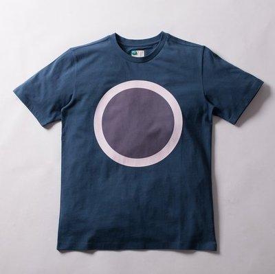 [ADLIB TAINAN] adlib夏季新款!大圓形圖案Logo短袖上衣 (1011)