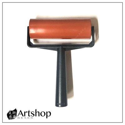 【Artshop美術用品】塑膠桿橡膠滾輪 顏料滾輪 5吋