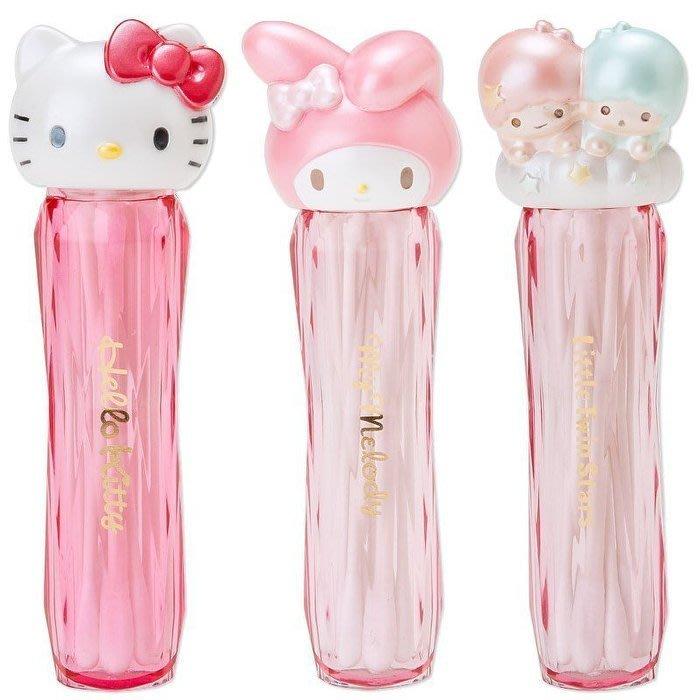 Ariel's Wish-日本三麗鷗雙子星星kiki lala凱蒂貓Hello Kitty棉花棒收納盒髮夾盒首飾盒化妝盒