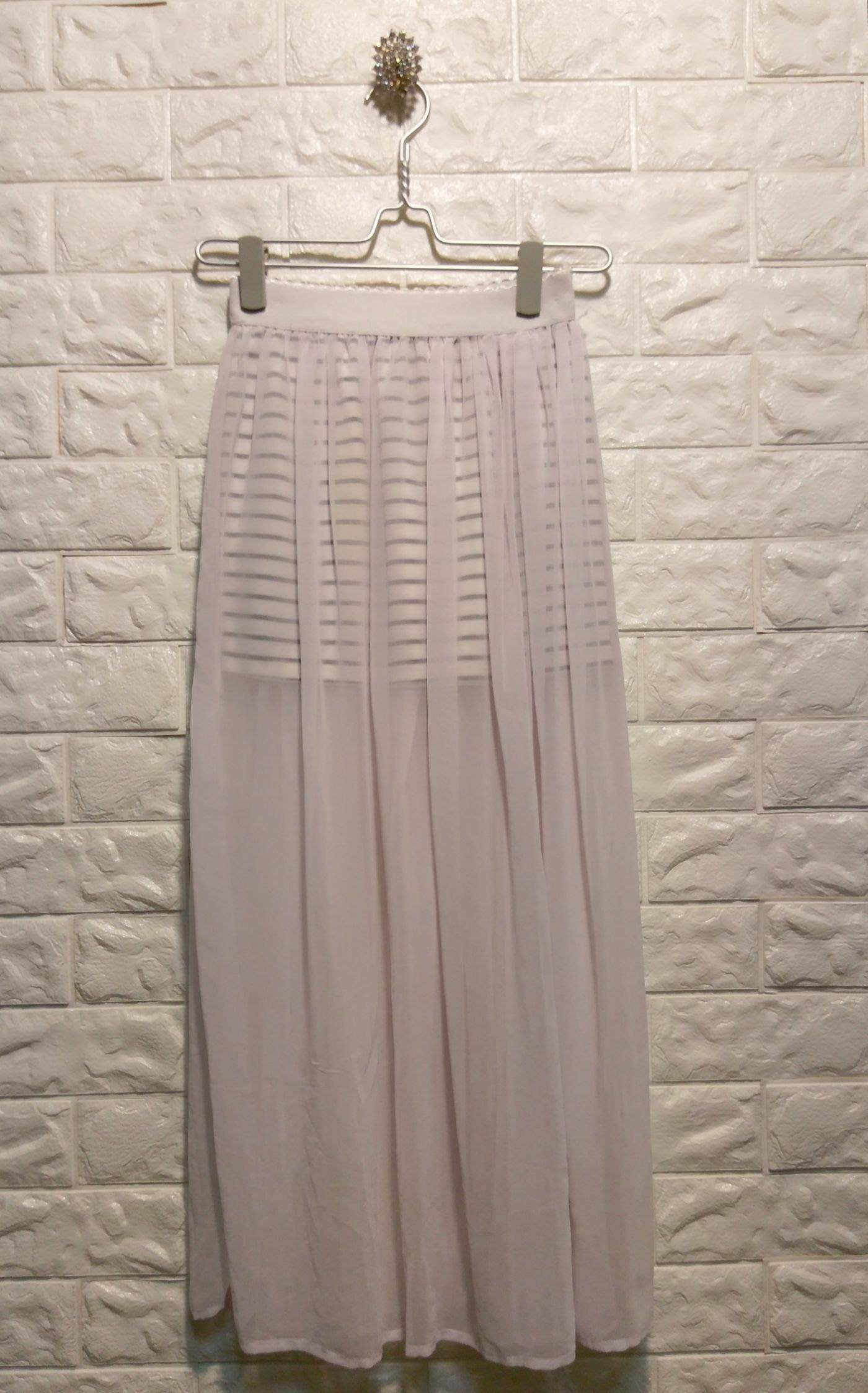 Lunatic Blue 韓版短裙  外罩網裙