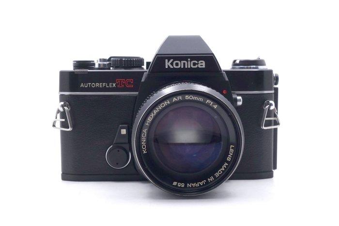 【台中青蘋果競標】Konica Autoreflex TC + 50mm f1.4 收藏品出清 不提供保固 #34702