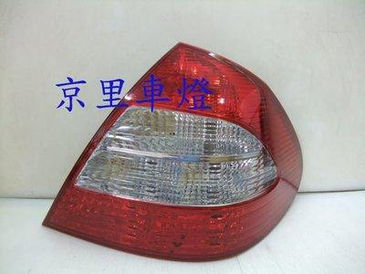 京里車燈專網  BENZ 賓士 W211 07~09原廠型晶鑚紅白尾燈