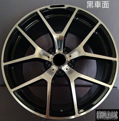 【CS-2747】全新鋁圈 類 AMG 19吋 5孔112 前後配 黑底車面 BENZ CLA W205 C300 PK
