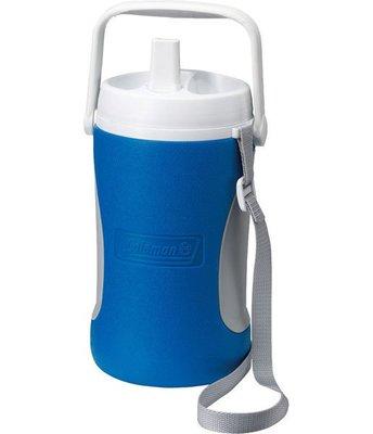 【山野賣客】美國Coleman1.89公升 野餐保冷水壺 水壺 冰桶 保冷 保溫(藍) CM-0448J