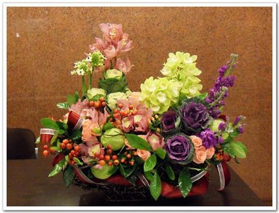 Taipei Florist 台北市信義區網路花店~開幕、新屋落成、喬遷、酒會、結婚