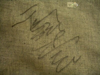 "MLB Brooklyn Dodgers #56 Kuo Hong Chih Game Used Autographed Pants""郭泓志實戰"""