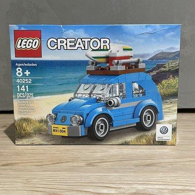 (bear)全新現貨盒損特惠 LEGO 樂高 Mini Beetle 福斯金龜車 40252 金龜車 福斯 小金龜車