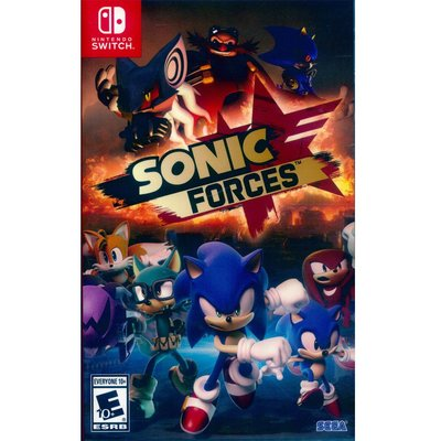 (現貨全新) NS SWITCH 音速小子 武力 英日文美版 Sonic Forces
