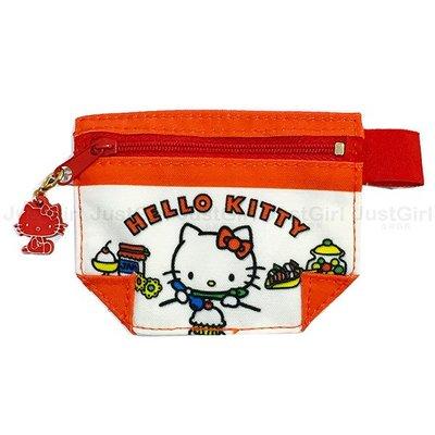 HELLO KITTY 零錢包 口袋型 配件 正版日本進口 * JustGirl *