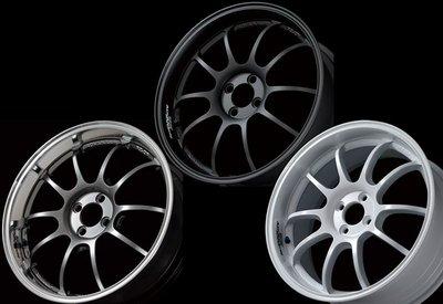 日本 Advan 鍛造 鋁圈 Racing RZ-DF 高亮黑 消光黑 純白 18吋 100 四孔 Mini 專用