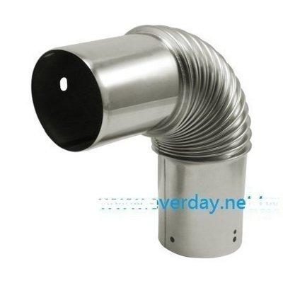 (永展) 排氣管 強制排氣另件 熱水器配件 304 白鐵 強制排氣 不鏽鋼 彎頭 強排 苗栗縣
