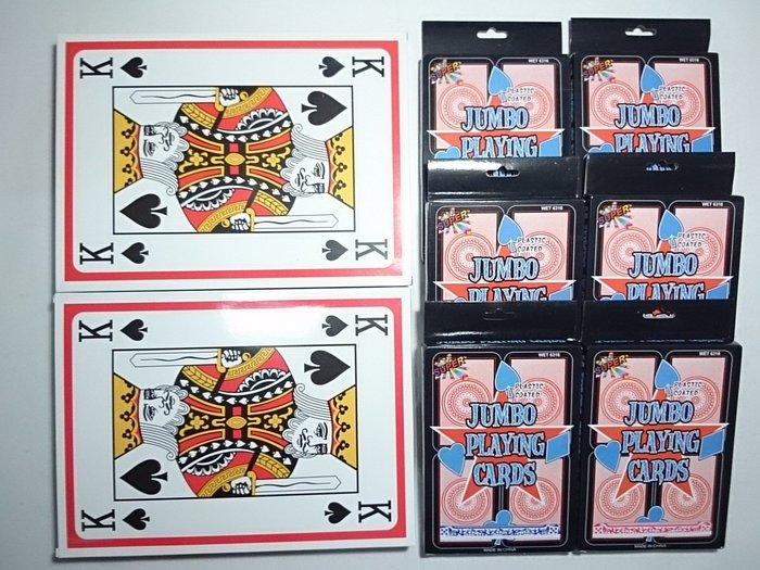 超值組合包 A4 超大撲克牌21×29cm   永和