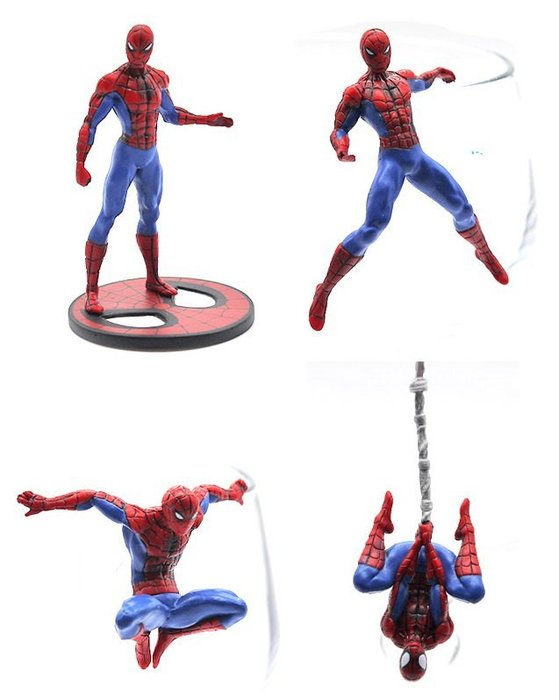 【動漫瘋】日版 T-arts 扭蛋 轉蛋 蜘蛛人 桌上型造型公仔 桌上小物 全4種