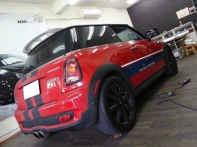 MINI Cooper R56 汽車拉線 汽車彩貼 車頂國旗 車頂貼膜 彩貼 R50 R52 R53 R58 R60