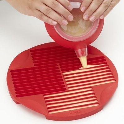 :::宅優物:::lekue 矽膠烘焙模具 手指餅乾專用模型 烤餅乾很簡單