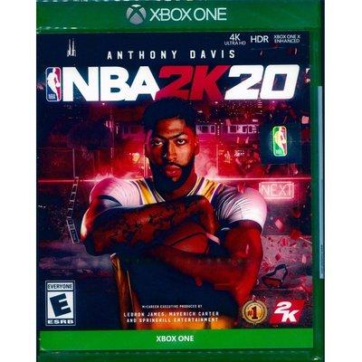 (現貨全新) XBOX ONE 勁爆美國職籃 2K20 中英文美版  NBA 2K20