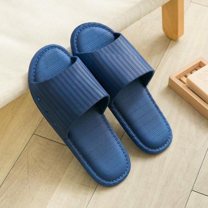 拖鞋男夏浴室居家室內防滑軟底一字拖男士厚底夏季男款潮流涼拖鞋WMNS191