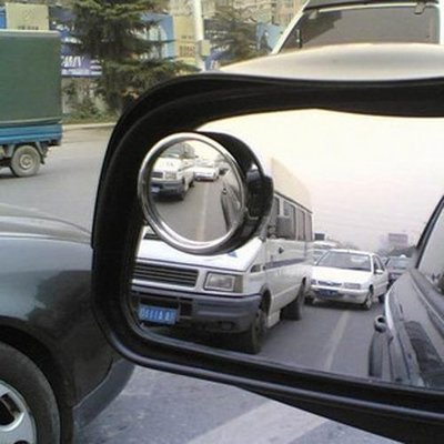 199免運↘360度全方位旋轉盲點鏡 後視鏡 (2入) 汽車倒車後視鏡小圓鏡 反光鏡
