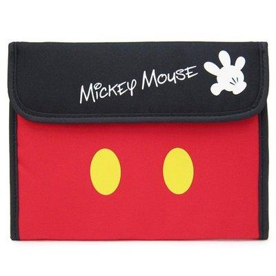 【小糖雜貨舖】日本 母子手帳冊 收納健保卡 信用卡 寶寶寫真卡 存摺 硬幣 照片-Disney迪士尼 Mickey 米奇