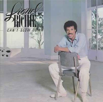 Lionel richie - Can't Slow Down CD 萊諾·李奇