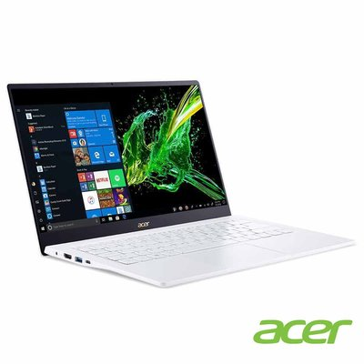 宏碁 ACER SWIFT SF514 54GT 52AB 白 i5-1035G1/8GB/MX250-2G/512GB