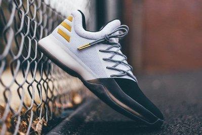 Adidas Harden Vol.1 Disruptor BW0552哈登1代大鬍子黑白金白黑金愛迪達Boost籃球鞋
