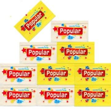 【彩虹小舖】Popular 250g 去汙皂 泡辣去汙皂 洗衣皂 250克 多用途植物洗衣皂