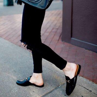 GUCCI Princetown slippers 穆勒鞋 黑色 全新 正品