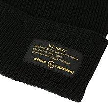 【日貨代購CITY】2017AW uniform experiment UEN KNIT CAP 毛帽 帽子 黑色 現貨