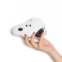 【Q包小屋】 日本 Misdo x Snoopy 多拿滋 史努比 大頭 絨毛 零錢包 收納包 卡套 化妝包