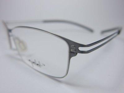 【信義計劃】全新真品 Eyelet 眼鏡 EL25 鏤空金屬方框 一體成型 超輕超越 Infinity Lindberg