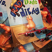 { POISON } RAD DUDE DICKY SKATEBOARD 滑板屌面人型玩具 進口懷舊玩具