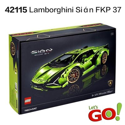【LETGO】現貨 樂高 科技系列 42115 藍寶堅尼 Lamborghini 1/8 FKP 37 油電雙門跑車