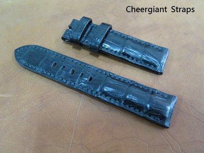 波爾錶鱷魚錶帶訂製巧將手工錶帶 BALL Trainmaster Roman crocodile strap MIT