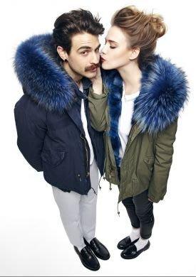 Mr & Mrs Italy Luxury Parka PM332S- BLACK PARKA MIDI sold