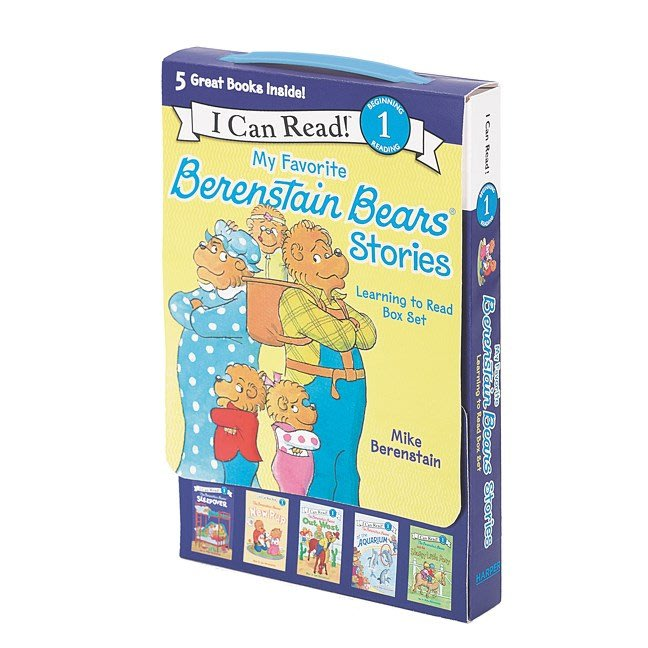 *小貝比的家*MY FAVORITE BERENSTAIN BEARS STORIES/LEVEL 1/5平裝/3~6歲