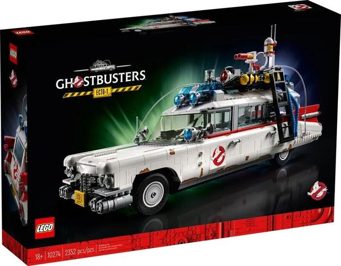 現貨 樂高 LEGO 10274 魔鬼剋星 抓鬼車 GHOSTBUSTERS ECTO-1 台樂公司貨 2352 pcs